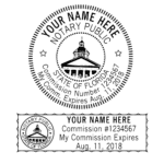 Florida Notary Stamp – Impressions