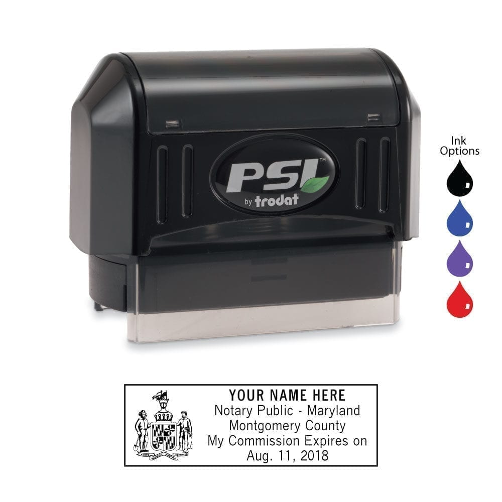 Maryland Notary Stamp - PSI 2264