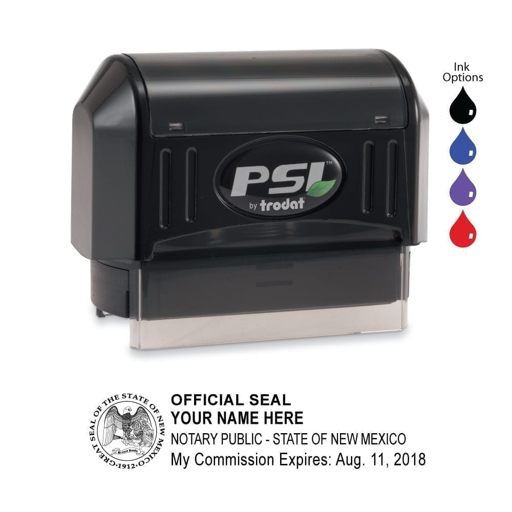 New Mexico Notary Stamp – PSI 2264