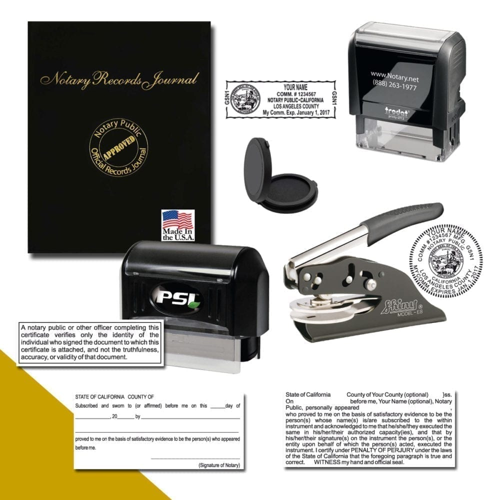 California Notary Professional Package