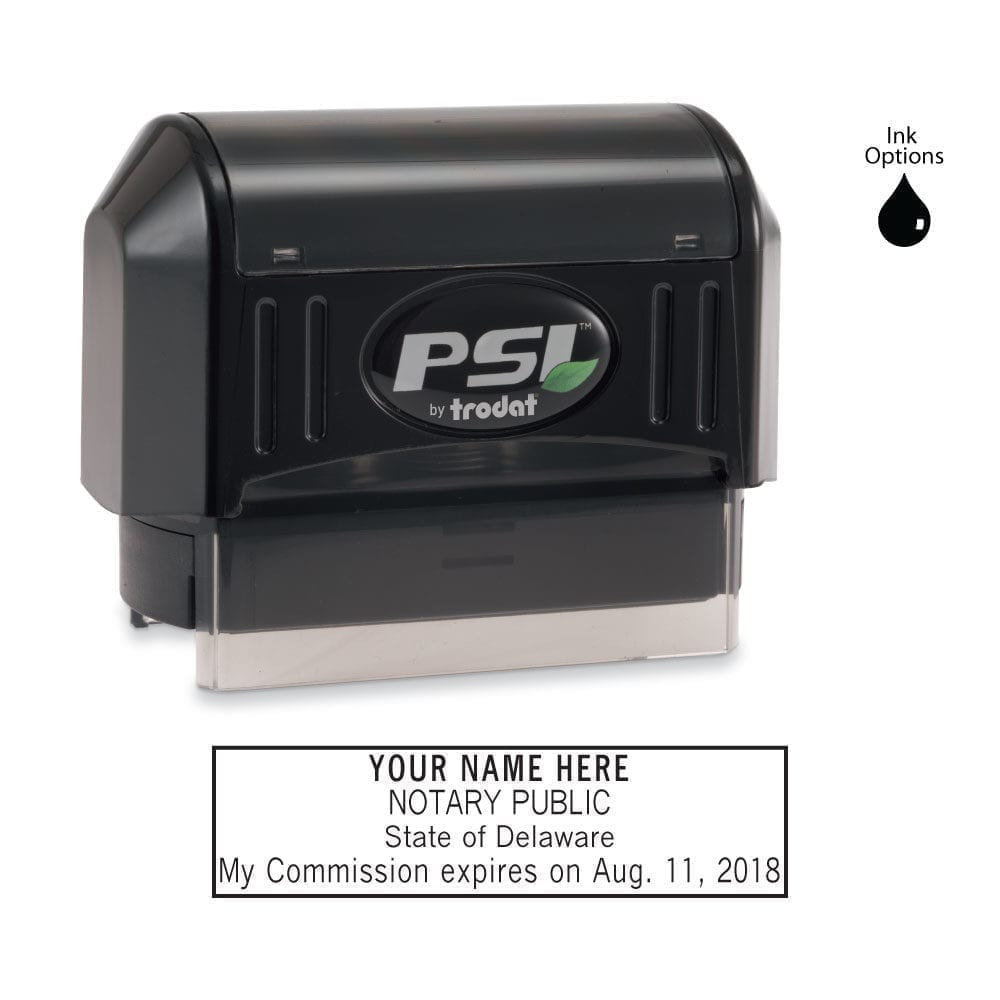 Delaware Notary Stamp - PSI 2264