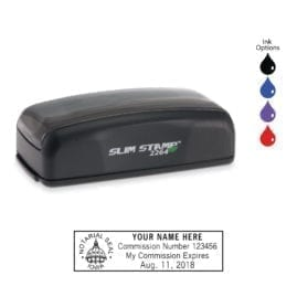 Iowa Notary Stamp - PSI 2264 Slim