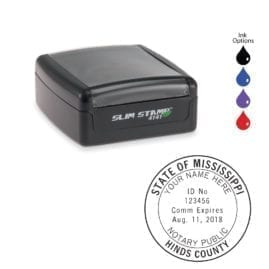 Mississippi Notary Stamp - PSI 4141 Slim